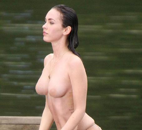Megan Fox Out Of Water