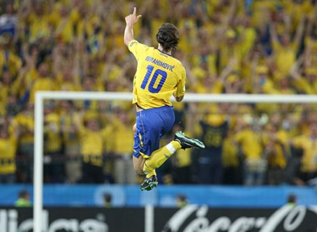 ibrahimovic scores in the euro08